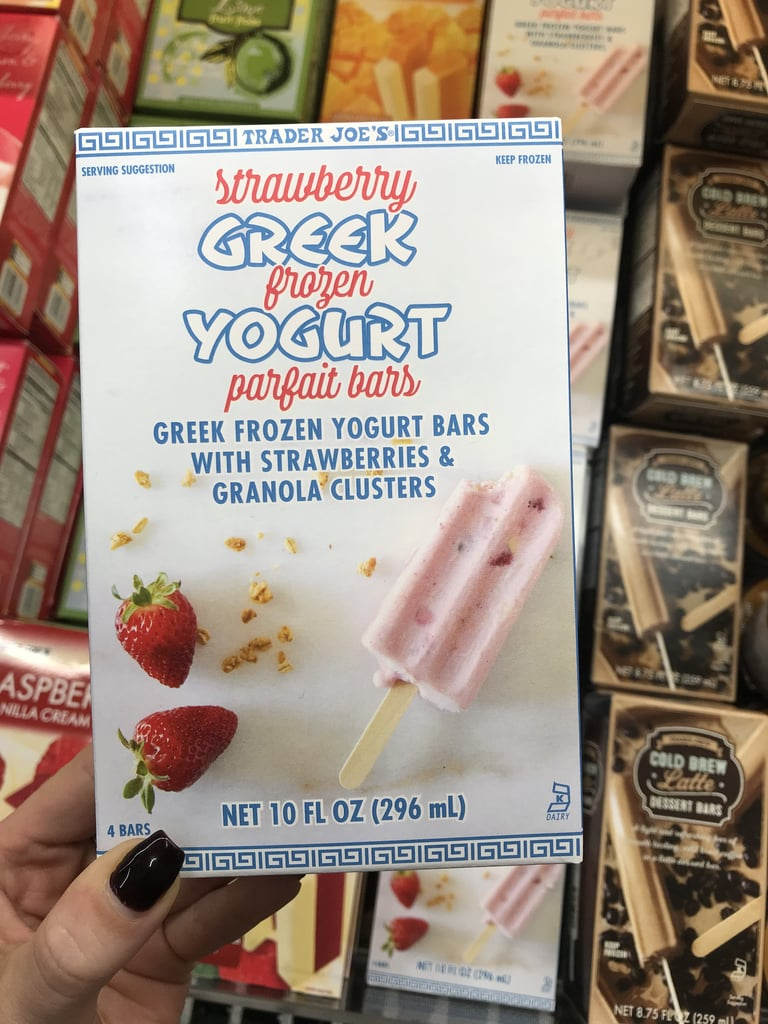 Trader Joe's Strawberry Greek Frozen Yogurt Parfait Bars ($3)