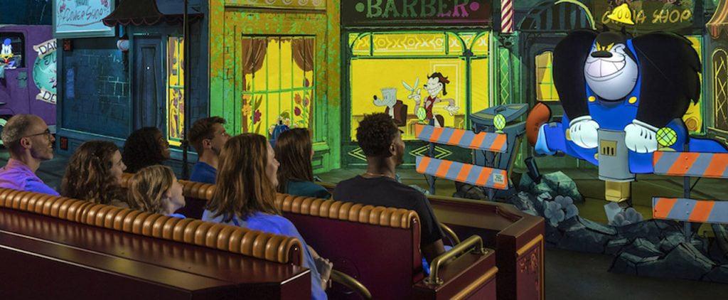 Mickey & Minnie's Runaway Railway Disney Ride Details