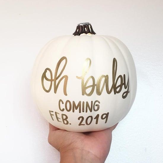 Fall Pregnancy Announcement Ideas