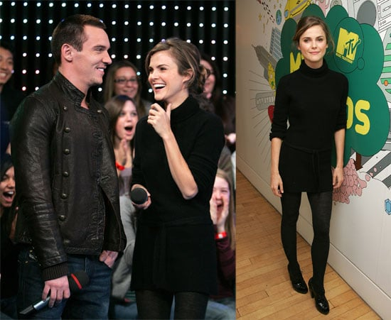 Keri and Jonathan Take Their Smiles to TRL