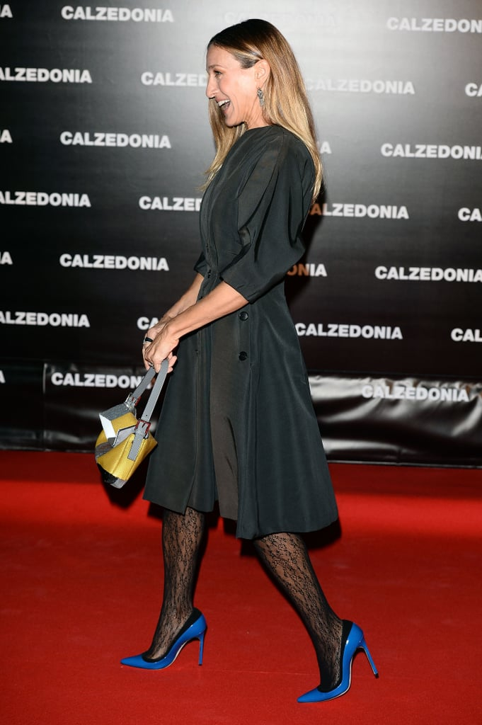 Sarah Jessica Parker hit the red carpet in Italy.