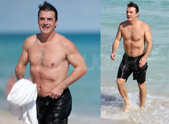 Chris Noth Goes Shirtless in a Big Way —Sexy or Not?