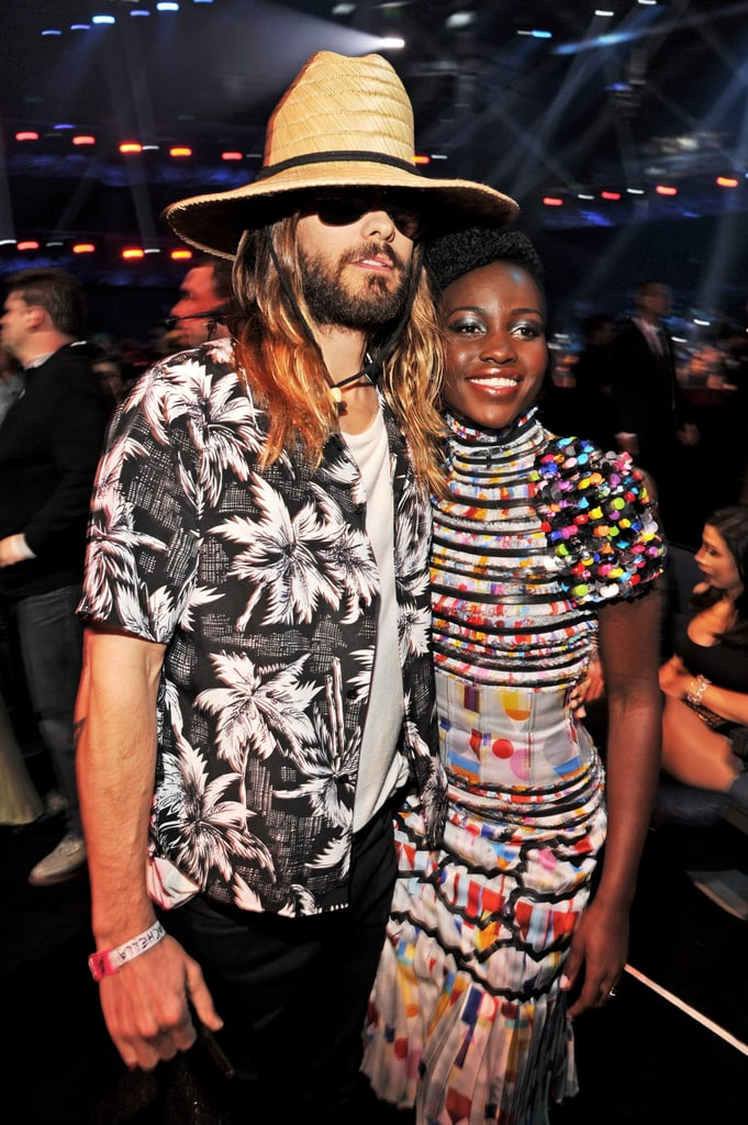 Jared Leto posed with Lupita Nyong'o.