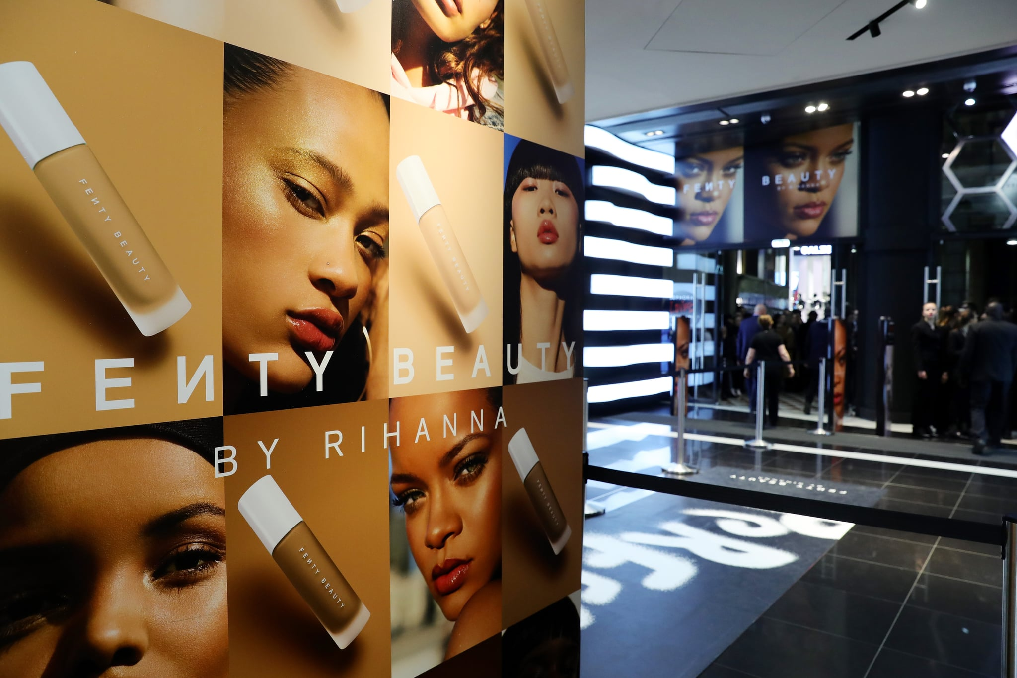 MILAN, ITALY - APRIL 05:  General view of Sephora loves Fenty Beauty by Rihanna store event on April 5, 2018 in Milan, Italy.  (Photo by Vittorio Zunino Celotto/Getty Images for Sephora loves Fenty Beauty by Rihanna store event )