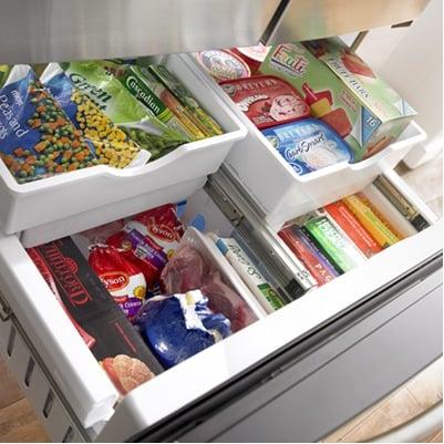 Flip the fridge