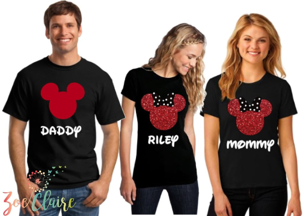 Matching Family Disney Shirts Popsugar Moms
