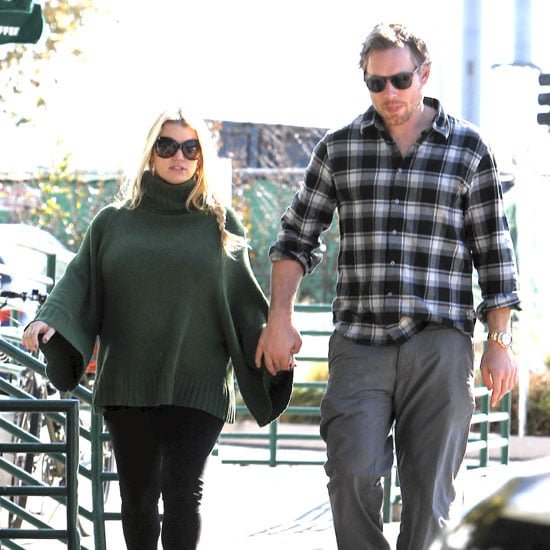 Pregnant Jessica Simpson and Eric Johnson Pictures