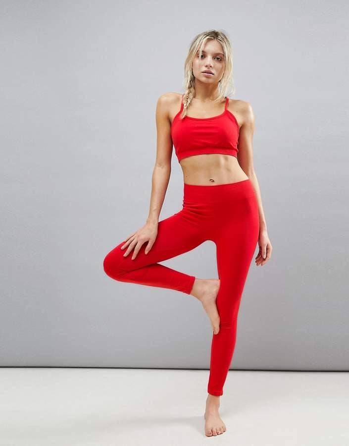 acfee2b4cf68f Kisaiya Seamless Yoga Legging | ASOS Workout Clothes | POPSUGAR ...