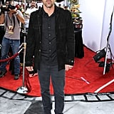 Patrick Dempsey walked the red carpet at the Iris premiere in LA.