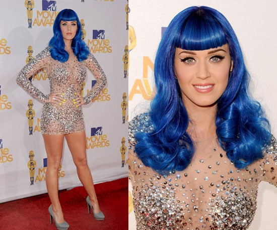Katy Perry in Zuhair Murad at 2010 MTV Movie Awards