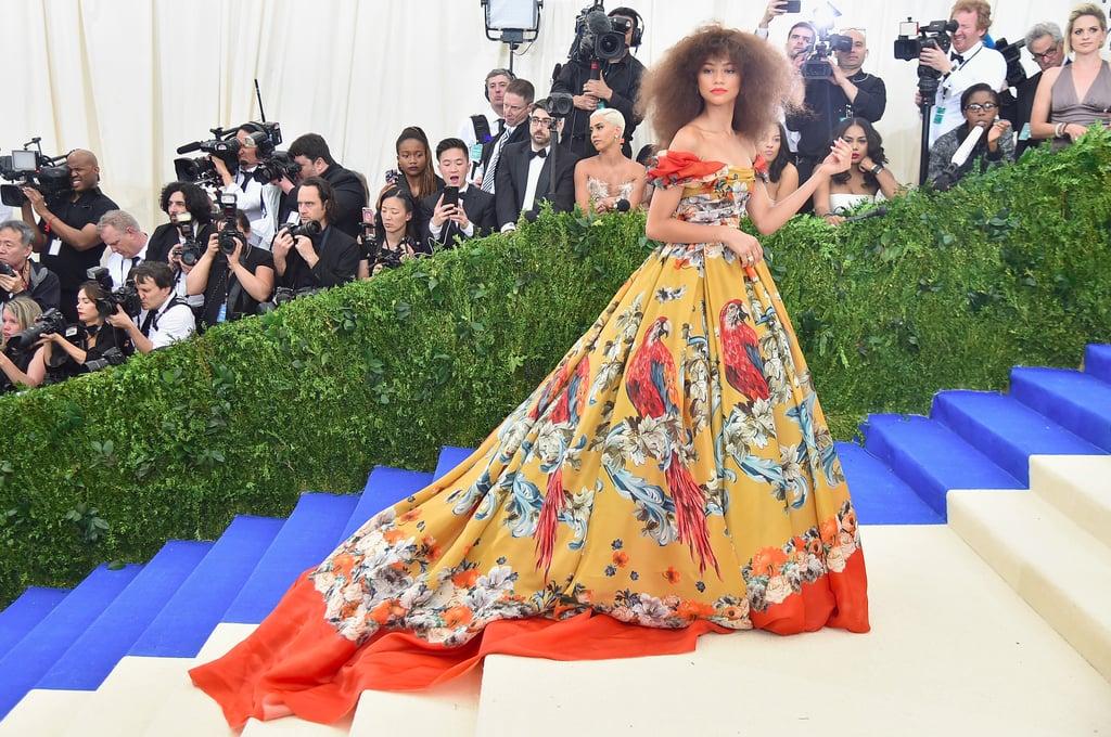 Zendaya's Dolce & Gabbana Dress at the Met Gala 2017