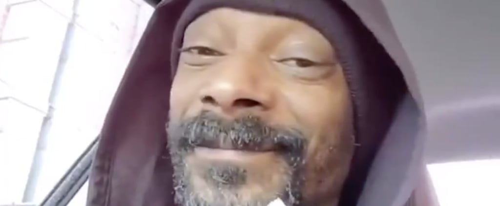 "Snoop Dogg Listens to ""Let It Go"" From Frozen 