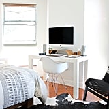 Organise your room, and make it look fresh by moving furniture around.