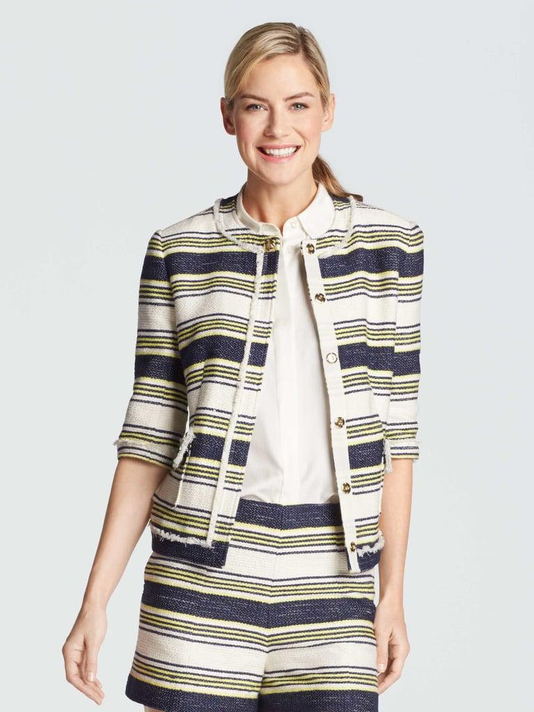 Sterling Stripe Tweed Blazer ($235)