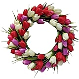 Tulip Wreath ($80)