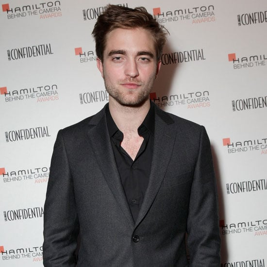 Robert Pattinson Pictures at the Behind the Camera Awards