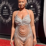 Amber Rose left little to the imagination when she showed up to the VMAs in 2014.