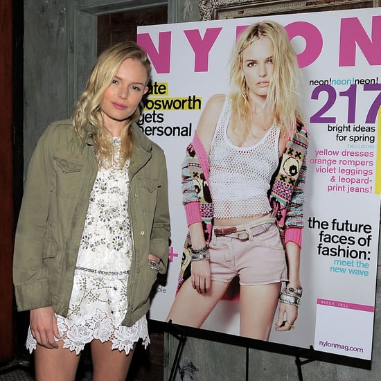 Pictures of Kate Bosworth at a Party For Her Nylon Cover With Alexander Skarsgard