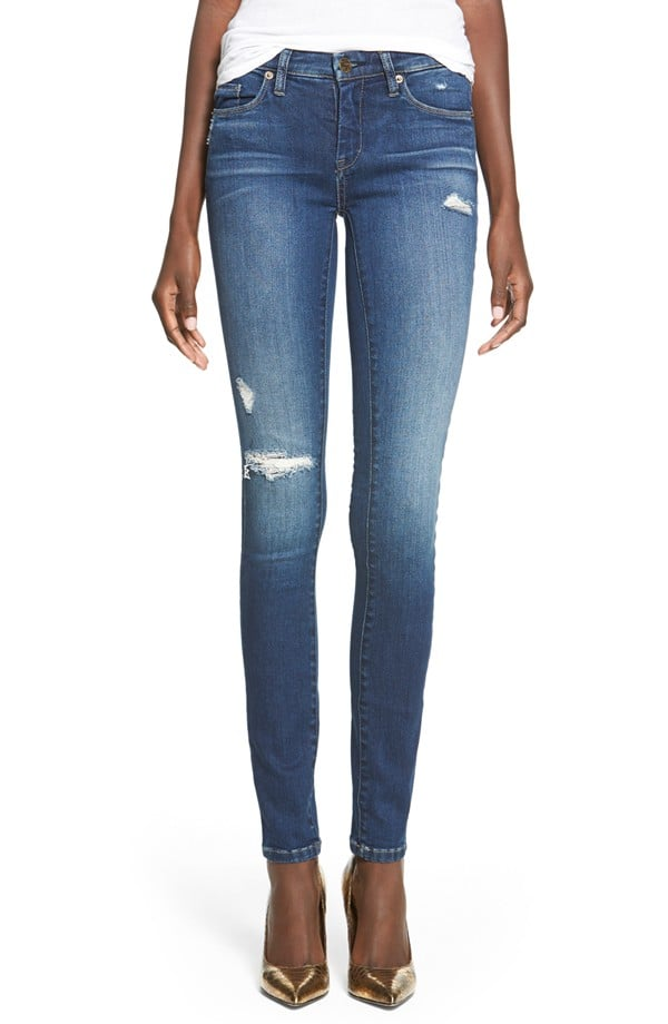 Blank NYC Hotel Distressed Skinny Jeans ($88)