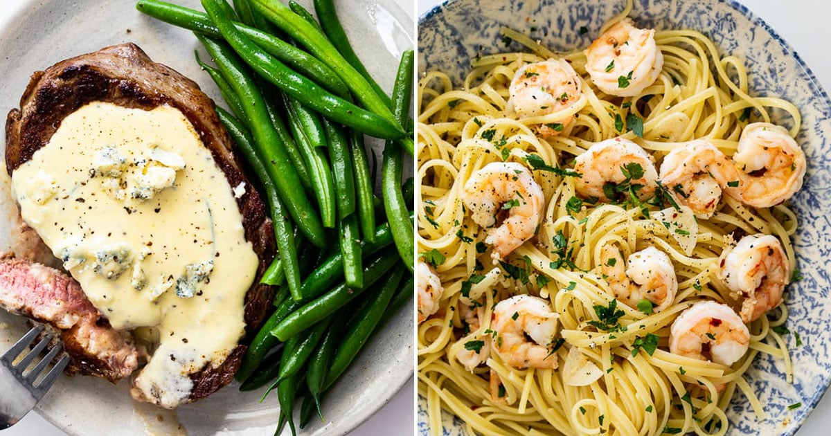 Cooking at Home? 15 Romantic Meals to Make on Valentine's Day