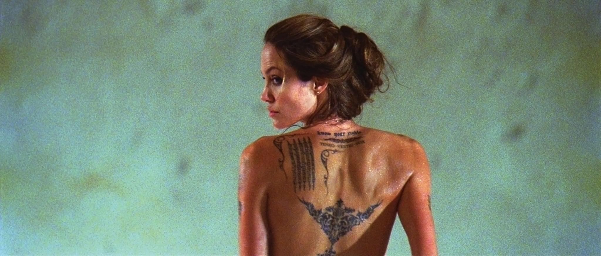 Angelina Jolie Hot Stills celebrity & entertainment | look back at angelina jolie's