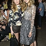 Natasha Lyonne and Zoe Kazan linked up at the Honor show on Thursday.