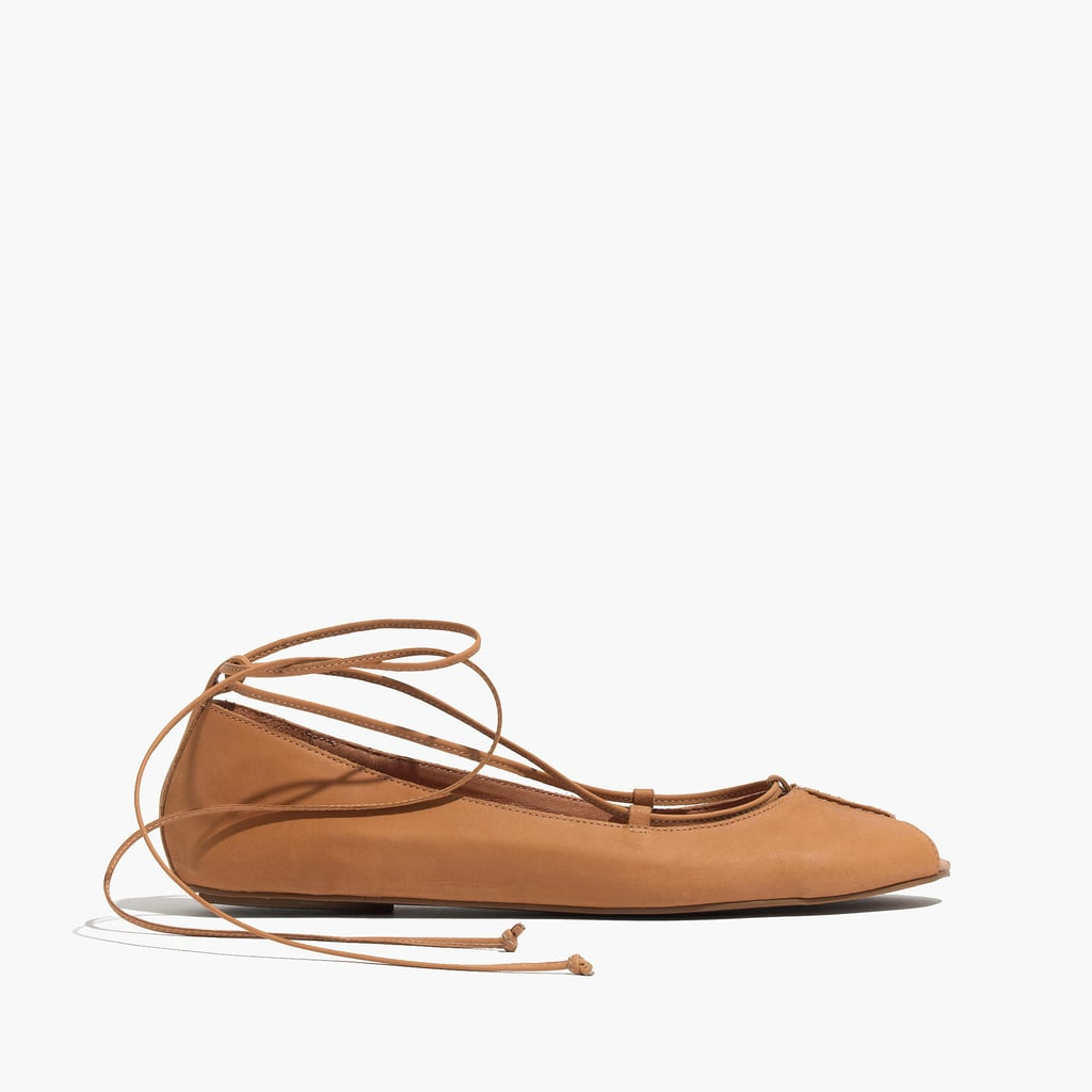 Madewell Lace-Up Flat