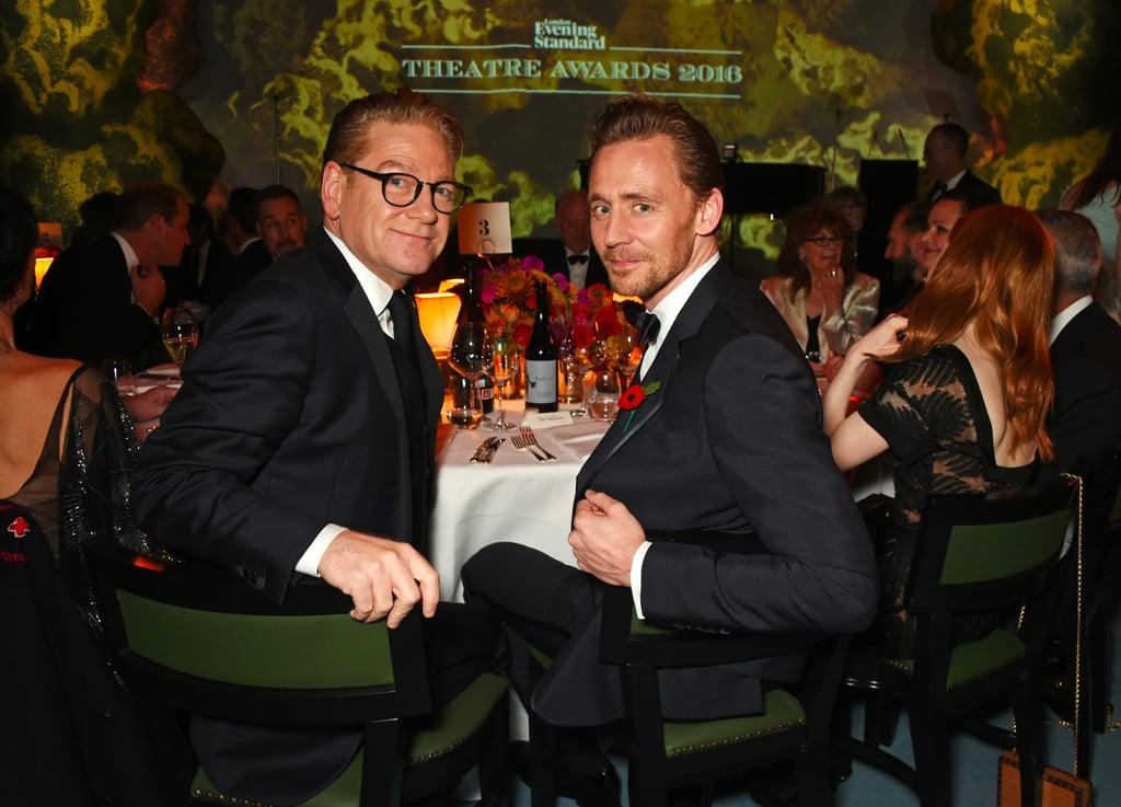 Celebrities at the Evening Standard Theatre Awards 2016