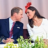 """Kate: """"Seriously, stop laughing at the maple leaf on my head!"""""""