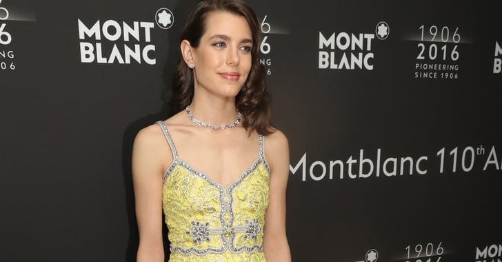 Charlotte Casiraghi in Gucci Dress at Monblanc Party 2016 ...
