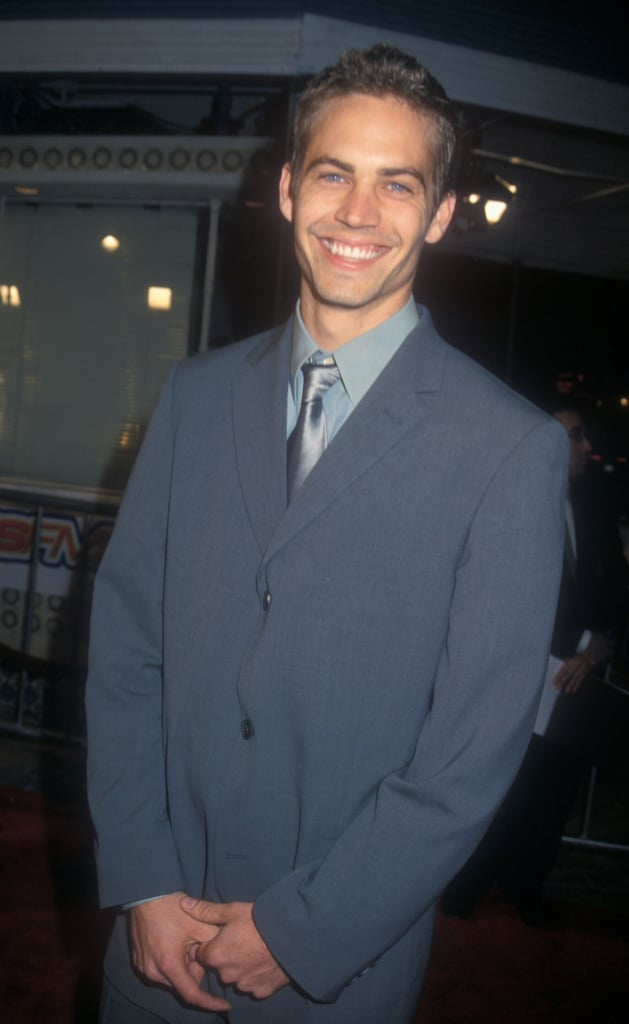 Paul Walker flashed his gorgeous grin at the premiere of Skulls in LA back in March 2000.