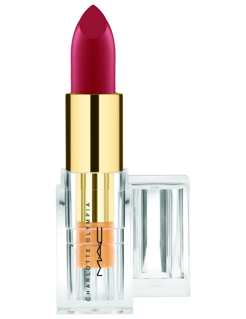 MAC Cosmetics x Charlotte Olympia Lipstick in Leading Lady Red