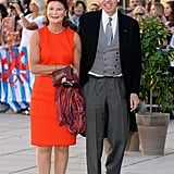 Prince Nikolaus and Princess Margaretha of Liechtensten were in attendance.