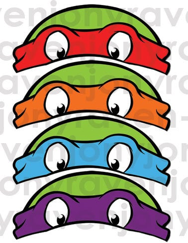 Or guests could opt for the most identifiable part of the turtles with bandana masks ($4).