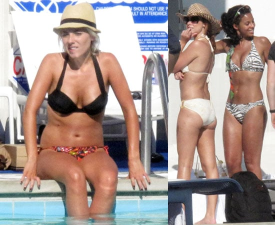 Pictures of The Saturdays in Bikinis