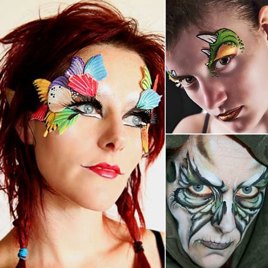 15 Easy Last Minute Halloween Costume Face Paint Ideas - Best Halloween Face Painting Ideas