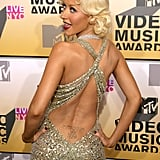 "Christina is another celebrity with an ex's initial's permanently marked on her body. Her lower-back tattoo reads ""I am my beloved's and my beloved is mine"" in Hebrew, right above her ex-husband's initials, JB."
