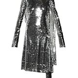VETEMENTS Open-back high-neck sequin dress ($12,950)