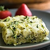 Herb Zucchini and Kale Egg Bake
