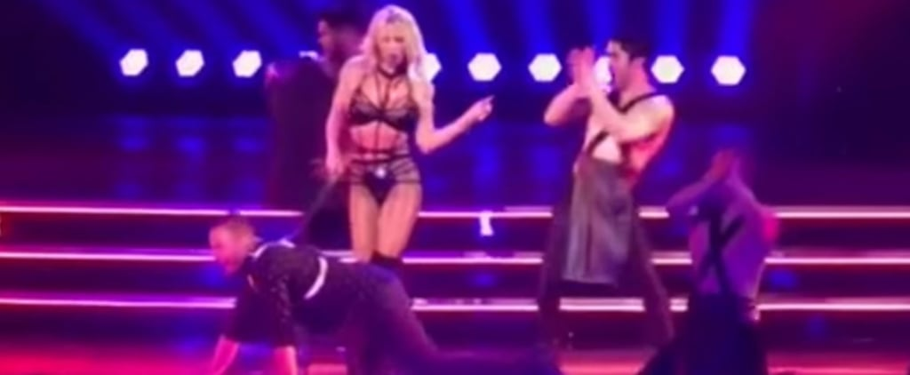 Britney Spears Gets Backstreet Boys's Howie Dorough on All Fours During Her Vegas Show