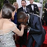 Meeting Sterling K. Brown at the 2017 Golden Globes