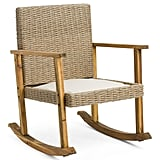 Indoor Outdoor Wicker Rocking Chair