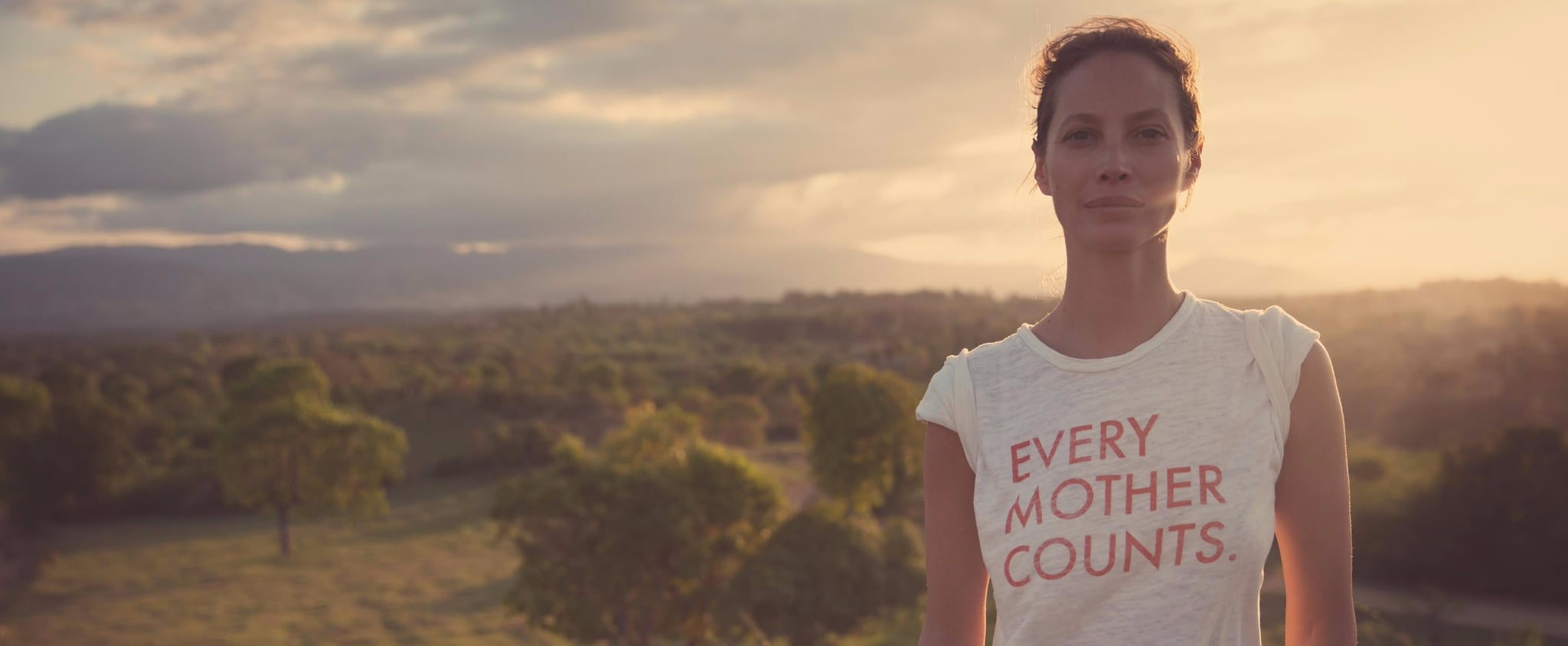 Christy Turlington Burns Founds Every Mother Counts