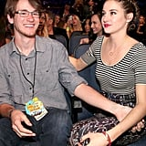 Shailene and Tanner Woodley