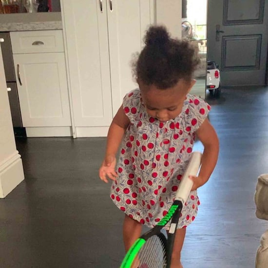 Video of Olympia Ohanian With a Tennis Racket