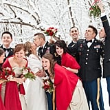 Snowy Michigan Wedding