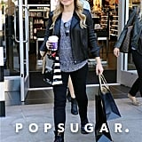 Kristen Bell went shopping in LA.