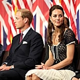 Prince William and Kate Middleton on last day in LA.