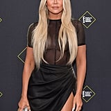 Khloé Kardashian at the 2019 People's Choice Awards