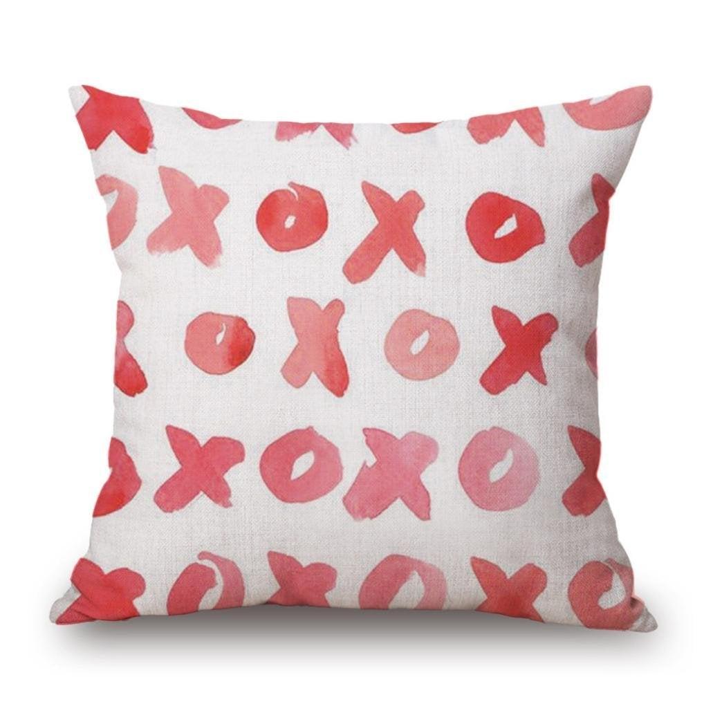 Sweet Love Red Pillowcase